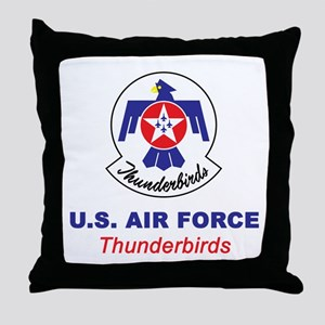 United States Air Force Thunderbirds Throw Pillow